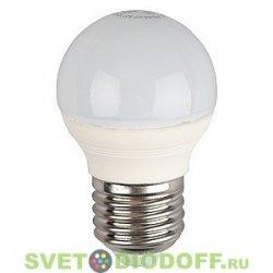 Лампа светодиодная ЭРА LED smd P45-5w-827-E27 2700К