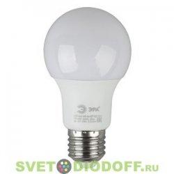 Лампа светодиодная ЭРА LED smd A60-6w-827-E27 ECO 2700К