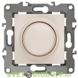 Светорегулятор (диммер) поворотно-нажимной, 400ВА 230В, Эра12, слоновая кость 12-4101-02 ЭРА