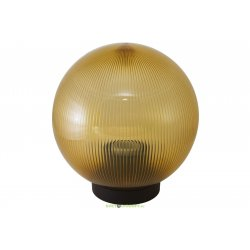 Светильник НТУ 02- 60-254 шар золотой с огранкой d250 мм TDM