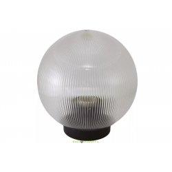 Светильник НТУ 02-100-303 шар прозрачный с огранкой d300 мм TDM