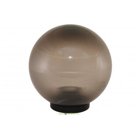 Светильник НТУ 02- 60-205 шар дымчатый с огранкой d200 мм TDM