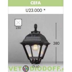 Венчающий светильник CEFA