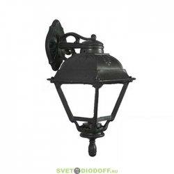 Уличный настенный светильник Fumagalli Bisso/Cefa черный/прозрачный