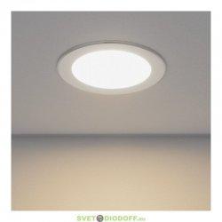 Панель светодиодная круглая RLP-eco 18Вт 230В 160-260В 4000К 1260Лм 225/195мм белая IP40 IN HOME