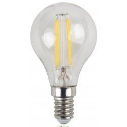 Лампа светодиодная Филамен ЭРА F-LED Р45-5w-827-E14