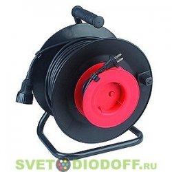 Удлинитель силовой ЭРА пласт. катушка без заземл. 30м 1гн 2х0.75мм2. RP-1-2x0.75-30m