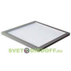 Ультратонкая светодиодная панель 295х295, 14 Вт, 6000 К, хром (без драйвера)