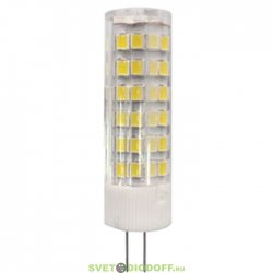 Лампа светодиодная ЭРА LED smd JC-7w-220V-corn, ceramics-827-G4