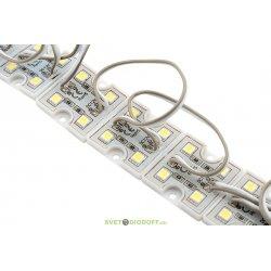 Модуль светодиодный 5050, 4LED, 0,96Вт, 12В, IP65, Цвет: 6000-6500 Холодный белый