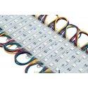 Модуль светодиодный 5050, 3LED, 0,72Вт, 12В, IP65, Цвет: RGB