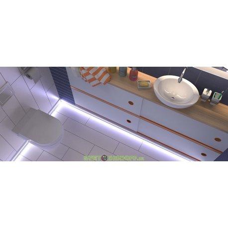 """Профиль """"плинтус"""" для светодиодной подсветки 5319, комплект 2м.п."""