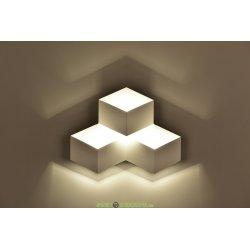 Бра светодиодное Palmira 3W дневной свет 4000К корпус белый
