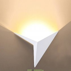 Бра светодиодное декоративное TRIK Черный 1Вт 3000К Теплый белый
