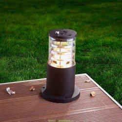 Уличный светильник столб 1508 TECHNO black черный 0,25м