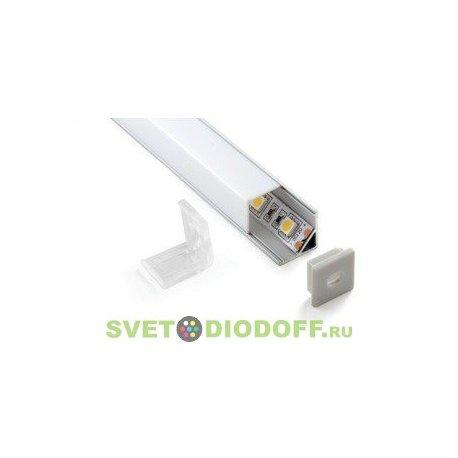 Алюминиевый профиль для светодиодных лент SD-281.