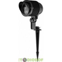 Тротуарный светодиодный светильник на колышке, 85-265V, 6W холодный белый IP65 , SP2705