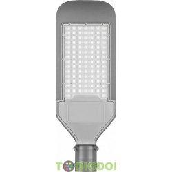 Светодиодный уличный консольный светильник SP2923 80W 6400K 230V, серый Ш (широкая)