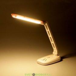 Настольный светодиодный светильник ЭРА NLED-425-4W-W белый