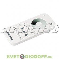 Пульт для одноцветной ленты SMART-R23-DIM White (4 зоны, 2.4G)