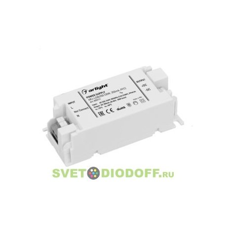 Блок питания (драйвер) ARJ-LE100350 (35W, 350mA, PFC)