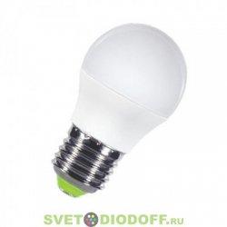 Лампа светодиодная LED-ШАР-STANDARD 5 ВТ 160-260В Е27 4000К 400ЛМ ASD
