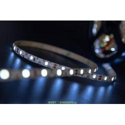 Лента светодиодная стандарт FLEX SMD 2835, 60 LED/м, 9 Вт/м, 12В , IP20, Ультра холодный белый