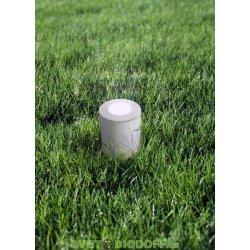 Светильник светодиодный грунтовый, Fumagalli FRANCA 90 SPIKE , белый, прозр., 1xGU10 LED с лампой 3,5W