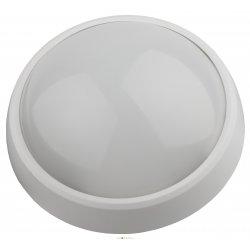 Светильник светодиодный влагозащищенный SPB-1-08 ЭРА IP54 8Вт 4000К 640лм круг 180х75 БЕЛЫЙ