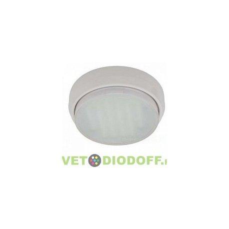 Накладной потолочный светильник под лампу GX53 Ecola DGX5318 Легкий Серебро (светильник) 18x83